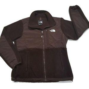 The North Face TNF Medium Brown Denali Jacket Coat